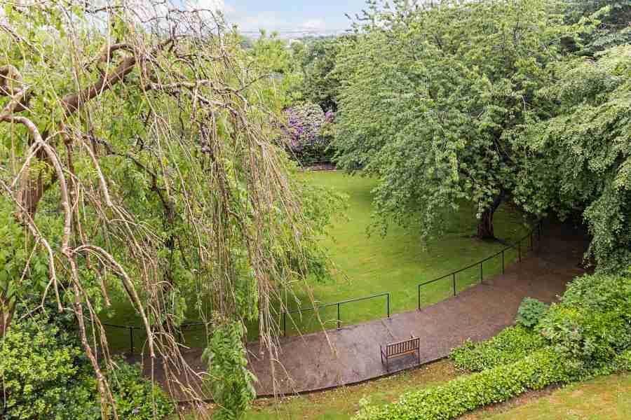 Back Garden Woodend Court