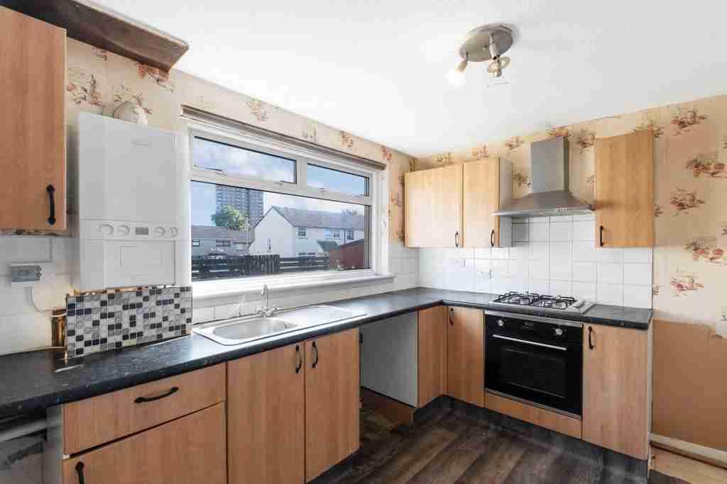Coursington Gardens, Motherwell kitchen